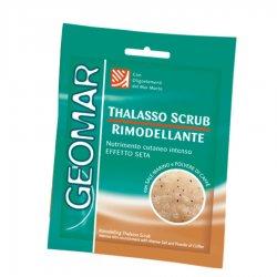 Geomar Thalasso Scrub, kawowy remodelujący peeling do ciała, saszetka 85g