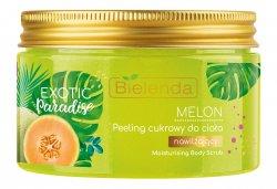 Bielenda Exotic Paradise Melon, nawilżający peeling cukrowy do ciała, 350g