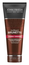 John Frieda Brilliant Brunette, odżywka pogłębiająca ciemne odcienie, 250ml