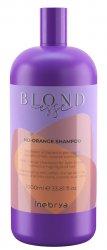 Inebrya Blondesse No Orange, szampon ochładzający odcień, 1000ml