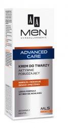 AA MEN Advanced Care, krem do twarzy aktywnie pobudzający, 75ml