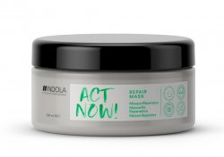 Indola Act Now!, wegańska maska regenerująca, 200ml
