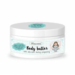 Nacomi, kremowe masło do ciała dla kobiet w ciąży, 100g