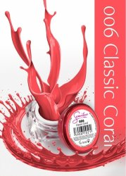 Semilac UV Gel Color 006 Classic Coral, 5ml