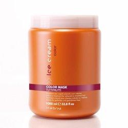 Inebrya Color, maska intensywnie nawilżająca do włosów farbowanych, 1000ml