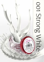 Semilac UV Gel Color 001 Strong White, 5ml