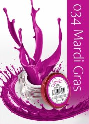 Semilac UV Gel Color 034 Mardi Gras, 5ml