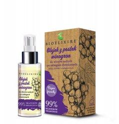 Bioelixire Organic, olejek z pestek winogron, 50ml