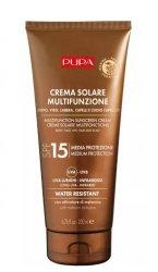 Pupa Multifunction Sunscreen, krem przeciwsłoneczny SPF15, 200ml
