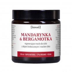 Iossi Mandarynka i Bergamotka, regenerujące masło do ciała, 120ml