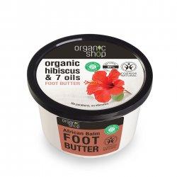 Organic Shop, naturalne odżywcze masło do stóp Afrykańskie, 250ml