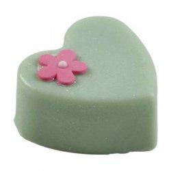 Bomb Cosmetics, kostka do masażu z masła kakaowego, Maślane Serce, 65g
