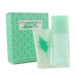 Elizabeth Arden Green Tea, zestaw perfum EDP 100ml + 100ml balsam do ciała (W)