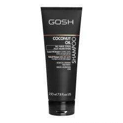 GOSH Coconut Oil, szampon do włosów, 230ml