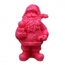 LaQ, mydło glicerynowe, Św. Mikołaj z prezentami, czerwony