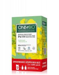 OnlyBio, hipoalergiczny płyn micelarny 3w1, refill, 500ml