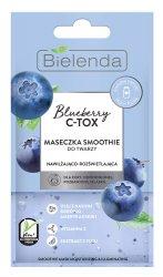 Bielenda Blueberry C-Tox, maseczka nawilżająco-rozświetlająca, 8g