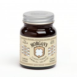 Morgan's, klasyczna pomada z olejkiem migdałowym i masłem shea, 100g