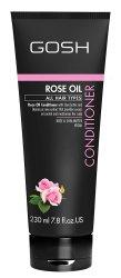 GOSH, odżywka do włosów z olejkiem różanym, 230ml