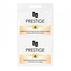 AA Prestige, oczyszczaj�ca maseczka do twarzy z bia�� glink�, saszetka, 2x5ml