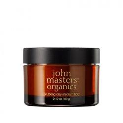 John Masters Organics, matująca glinka do stylizacji włosów, 60g