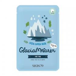 SKIN79, Fresh Garden - Glacial Water, maska w płacie z wodą z lodowca, 23g
