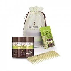 Macadamia Weightless Care Kit, zestaw maska+grzebień