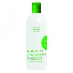 Ziaja, szampon do włosów Intensywna Świeżość z miętą, 400ml