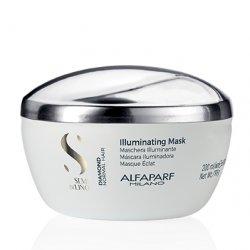 Alfaparf Semi di Lino Diamond, maska rozświetlająca do włosów normalnych, 200ml