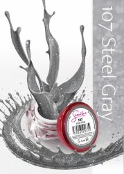 Semilac UV Gel Color 107 Steel Gray, 5ml