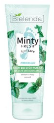 Bielenda Minty Fresh Foot Care, krem maska zmiękczający na silne zrogowacenia, 100ml