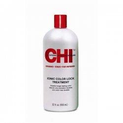 CHIi Color Lock Treatment, zakwaszająca odżywka do włosów, 355ml