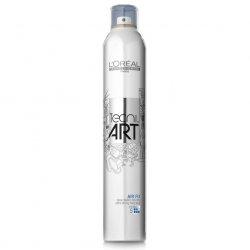 Loreal Tecni Art 2014 Air Fix, bardzo mocno utrwalający spray do włosów, 400ml