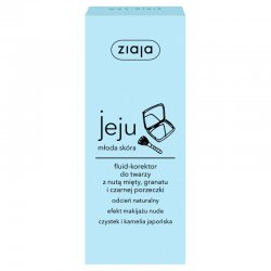 Ziaja Jeju, fluid-korektor do twarzy, 50ml