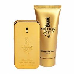 Paco Rabanne 1 Million, zestaw perfum edt 100ml + 100ml żel pod prysznic (M)