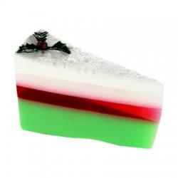 Bomb Cosmetics, tort mydlany, Imbirowy, Festive Ginger Cake