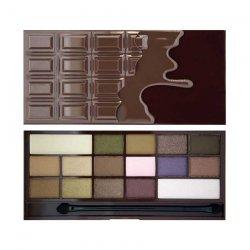 Makeup Revolution, paleta cieni do powiek, I Heart Chocolate