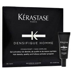 Kerastase Densifique Homme, kuracja kreująca gęstość włosów dla mężczyzn, 30x6ml