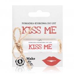 Make Me Bio Kiss me, Pomadka ochronna do ust, 5ml