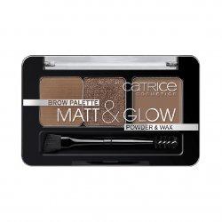 Catrice, Brow Palette Matt & Glow, paleta do brwi