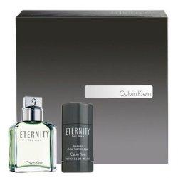 Calvin Klein Eternity M, zestaw perfum edt 100ml + 75ml deostick (M)