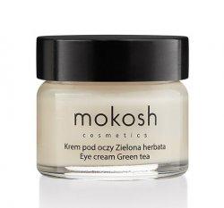Mokosh, korygujący krem pod oczy, zielona herbata, 30ml