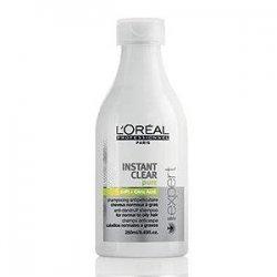 Loreal Instant Clear, szampon przeciwłupieżowy, włosy normalne i przetłuszczające się, 250ml