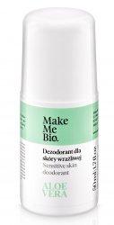 Make Me Bio, naturalny dezodorant z wyciągiem z aloesu, 50ml