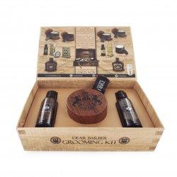Dear Barber Hair Styling Collection I-Fibre, zestaw: szampon 50ml, odżywka 50ml, pasta włóknista 100ml