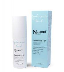 Nacomi Next Level, serum z kwasem hialuronowym 10%, 30ml