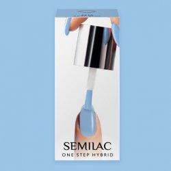 Semilac One Step Hybrid, lakier hybrydowy, 5ml, S810 Baby Blue