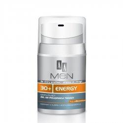 AA Men 30+ Energy Żel do twarzy nawilżający, 50ml