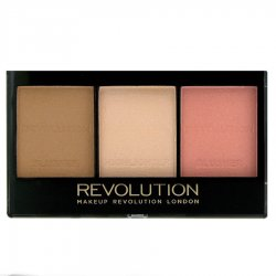 Makeup Revolution, paleta do konturowania twarzy, Ultra Fair