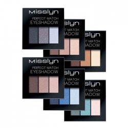 Misslyn Perfect Match, cienie do powiek, 3,6g